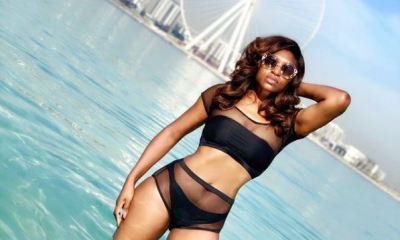 Nollywood actress and mother of two, Ufuoma Mcdermott has shared rare bikini pictures of herself on social media and has got her fans talking.