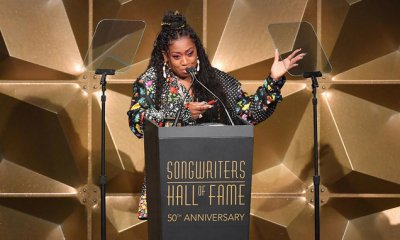 International female rapper, Missy Elliott becomes first female rapper inducted into Songwriters Hall of Fame for her contribution to the music industry.