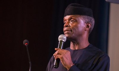 Prof. Yemi Osinbajo, Nigeria's Vice President has recently been receiving backlashing over his speech at New York, where he was quoted as saying that the ongoing insecurity in the country particularly kidnapping and banditry were being exaggerated.