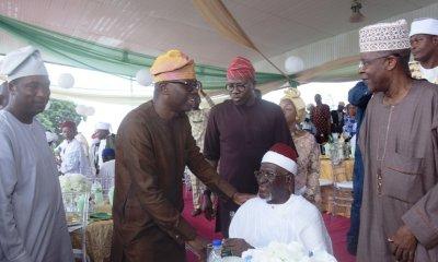 Eid-El-Fitri: Sanwo-Olu Hosts Chief Imam of Lagos, Others (Photos)