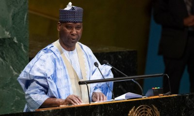 Nigeria's Representative at the United Nation UN, Prof Tijjani Mohammed Bande, has been elected the President of the 74th UN General Assembly in an election which took place yesterday.