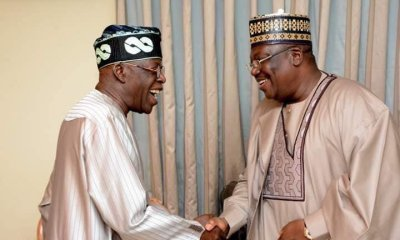 Photo News: Senate President Lawan Visits Tinubu In Lagos