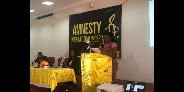 Sexual Assault: Amnesty Group Reacts To Dakolo's House Invasion