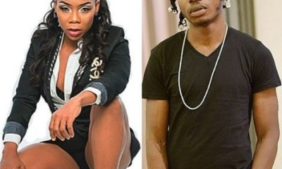 Naira Marley berates Nigerian record-breaking dancehall artist, Kafayat Shafau, popularly known as Kaffy as 'old' For condemning his soapy dance.