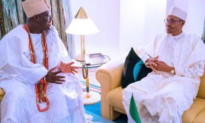 Photo News: Buhari Hosts South West Monarchs