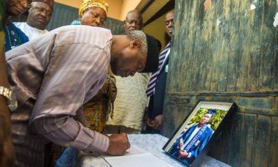 Photo News: Osinbajo Visits Family Of Slain Corps Member Owolabi