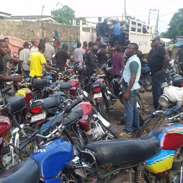 Lagos Task Force Resume Operation Clamp Down On Okada