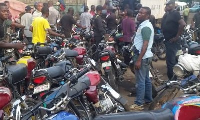 Lagos Task Force Resume Operation Clamp Down On Okada