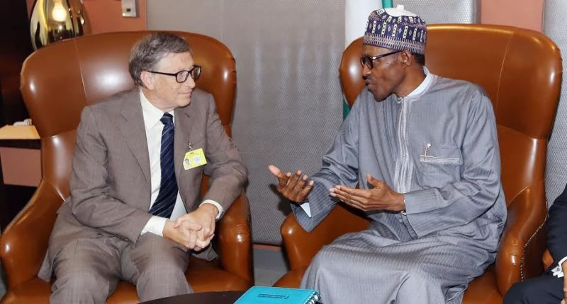 Bill Gates Advices Buhari On Tax Increase