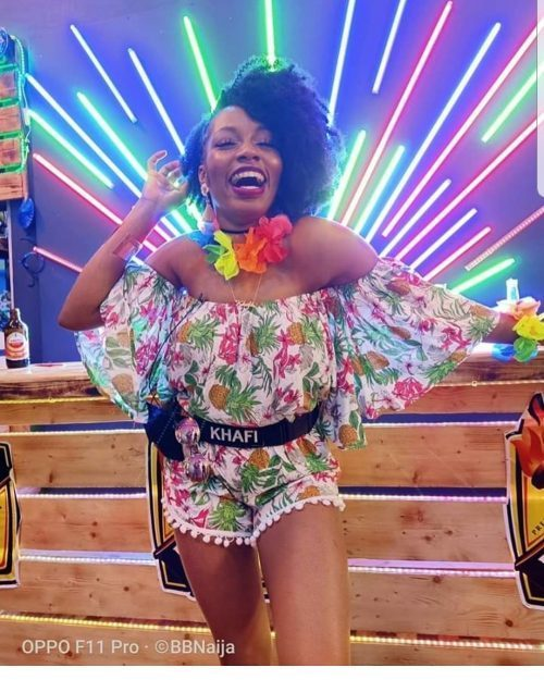 Pepper Dem: Khafi Evicted From BBNaija Show