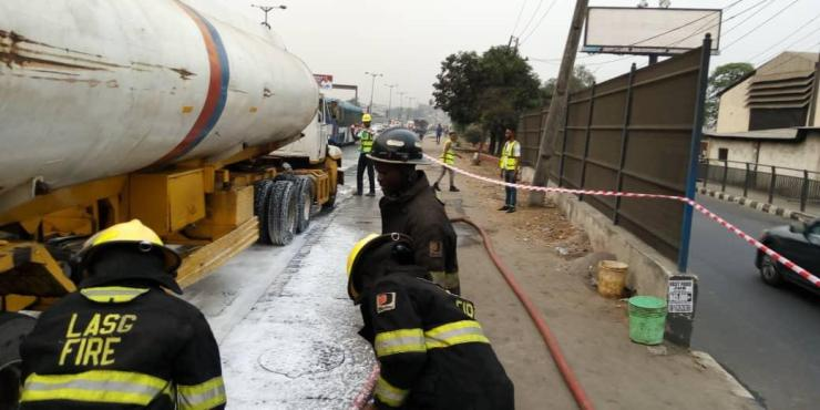 No Casualities At Scene Of Maryland Accident -- LASEMA