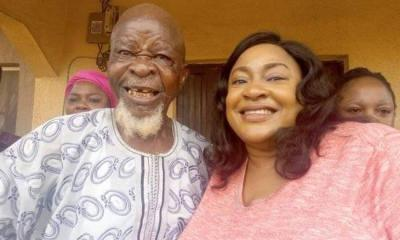 Nollywood Actors Throw Surprise 95th Birthday party For Ace Actor Agbako