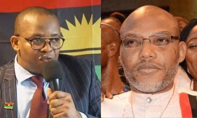 Biafra: Nnamdi Kanu Deceitful, A Blackmailer– Uche Mefor Roasts IPOB Leader