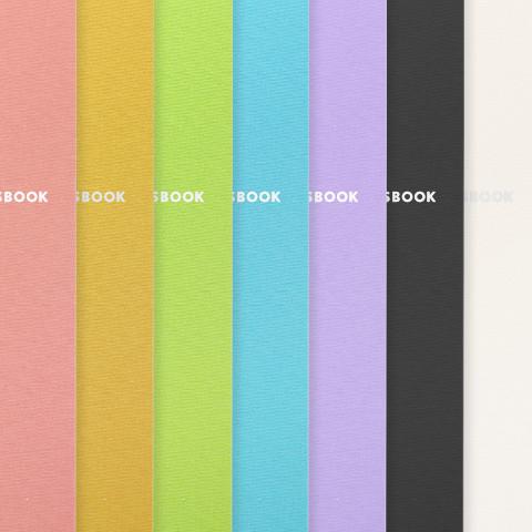 ALBUS専用アルバムのカラーは7種類から選べる