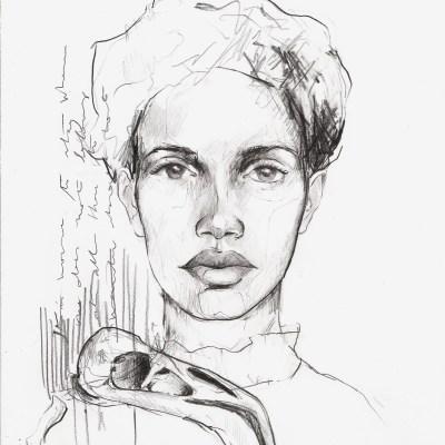 In our bones I | Graphite pencil on paper | 21x29.7 cm