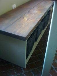 Wood Project Ideas: More Kitchen table storage bench plans