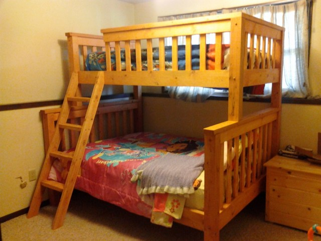 Twin over Full Bunk Beds | Do It Yourself Home Projects from Ana White