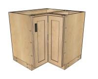 "Ana White | 36"" Corner Base Easy Reach Kitchen Cabinet ..."
