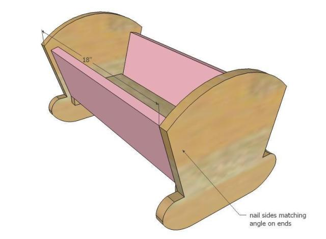 Baby Doll Cradle Plans