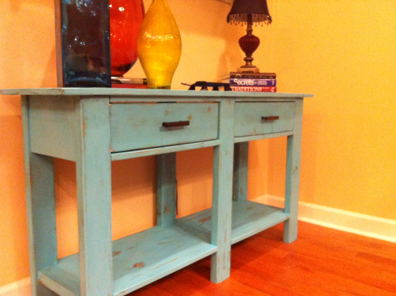 sofa table plans ana white