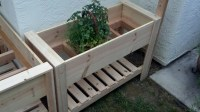 Ana White | Twin Raised Planter Boxes - DIY Projects