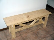 Ana White Large Rustic Bench - Diy Projects
