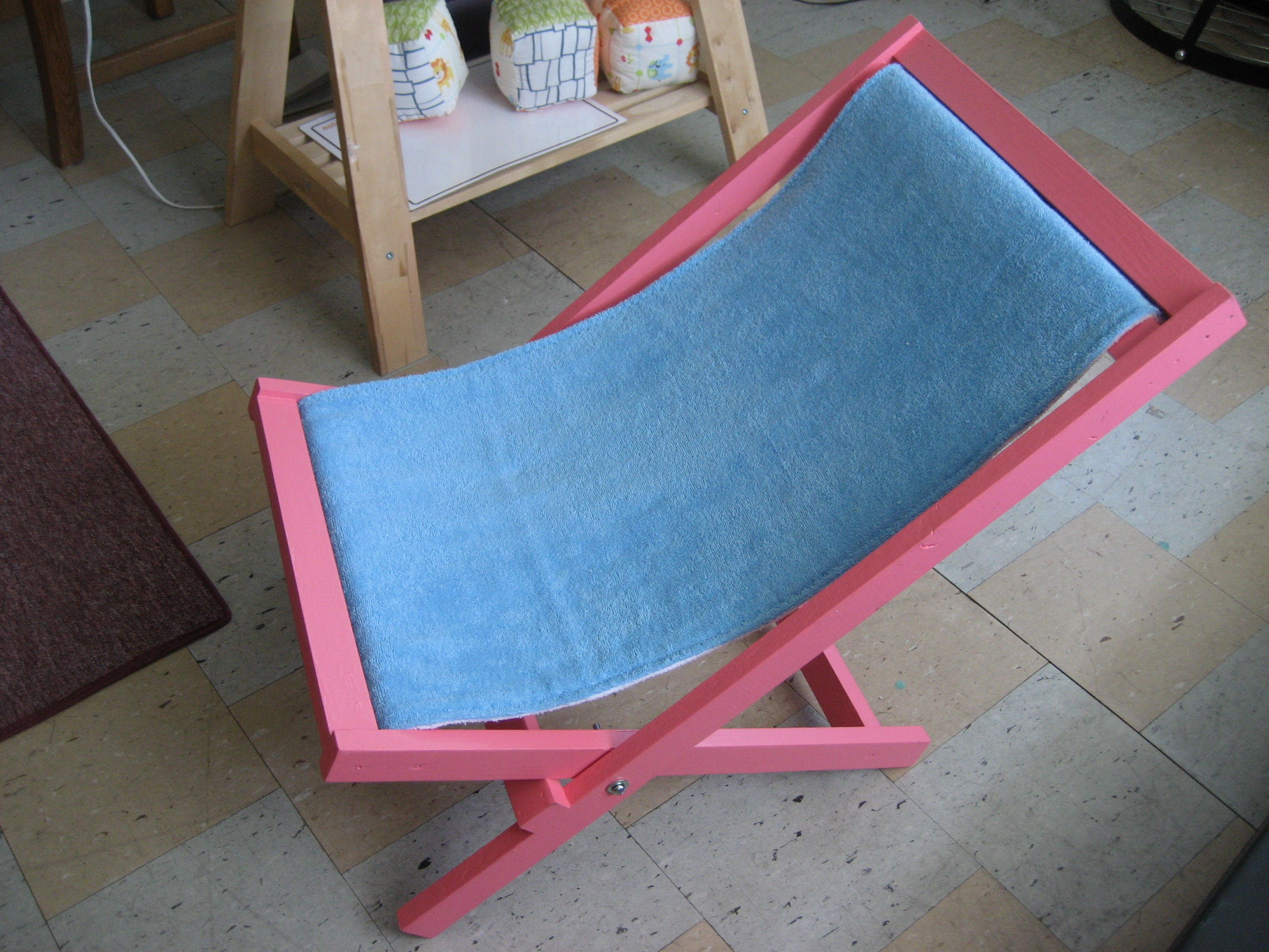 Beach Sling Chair Ana White Child Beach Sling Chair Diy Projects