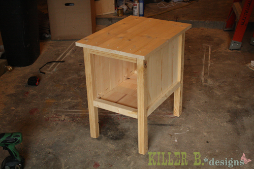 build end table plans