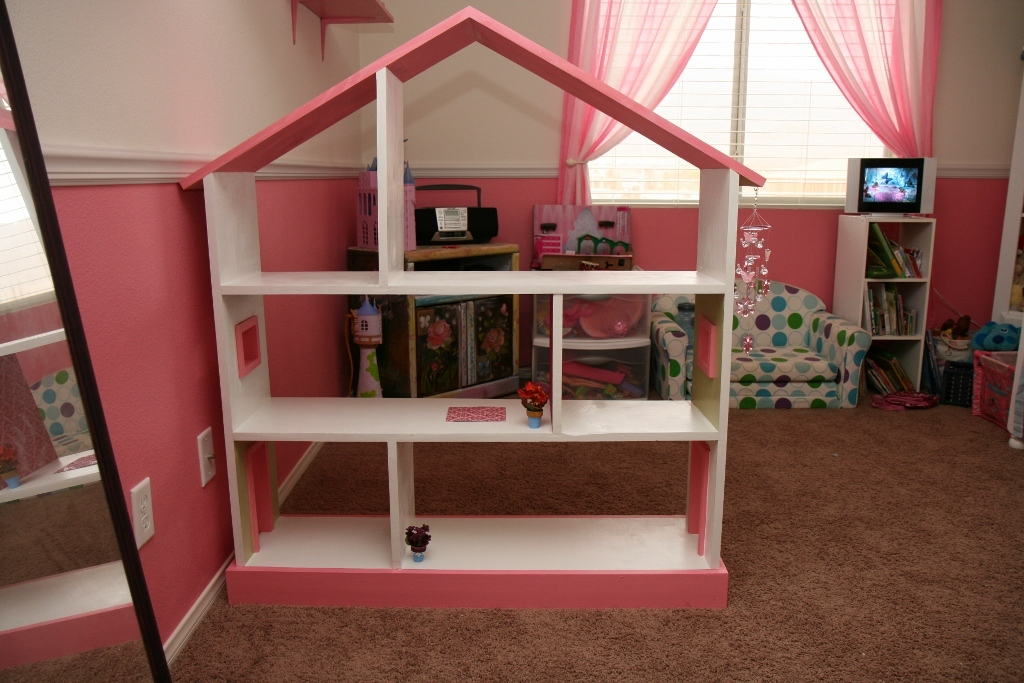 how to build a dollhouse bookshelf