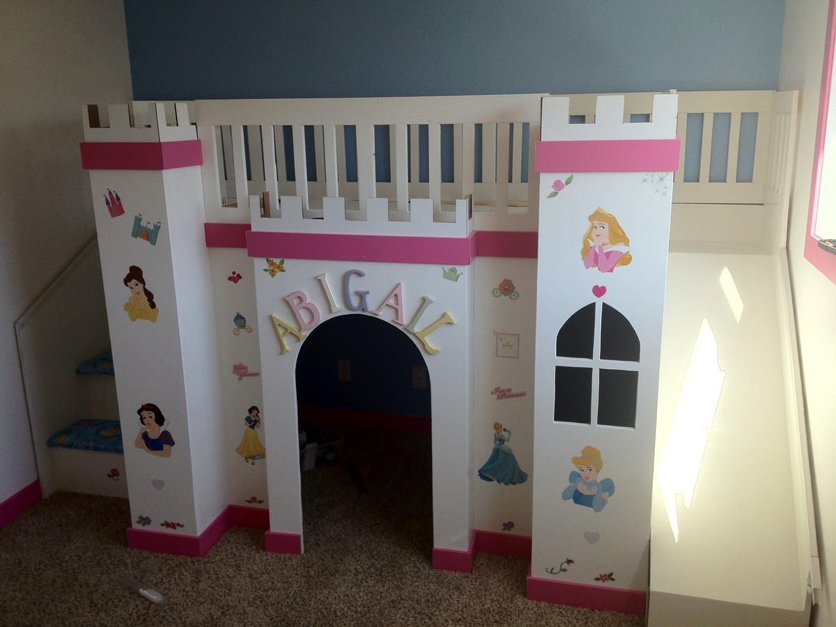loft bed plans castle