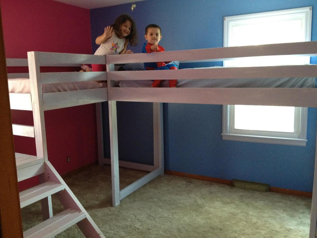loft bed plans download