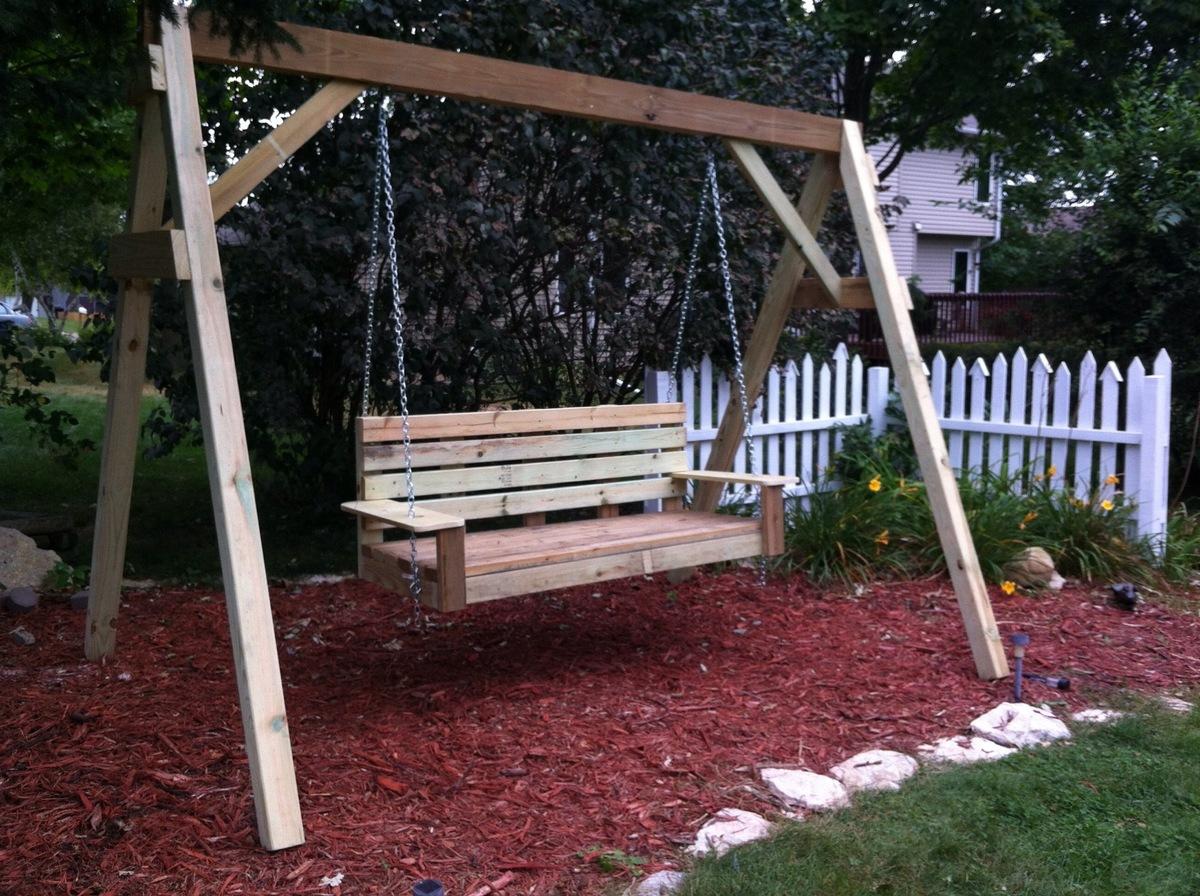 Build Porch Swing Frame