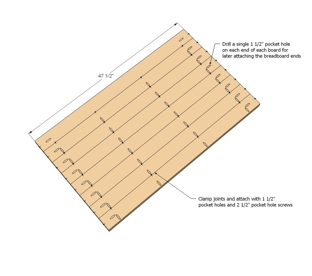 PDF Plans Pocket Hole Plans Download Cabinet Mission Plan