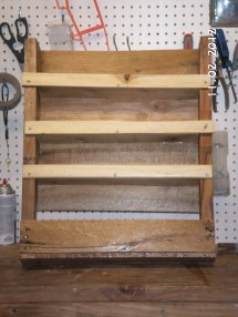 Ana White Pallet Shelf Spice Rack - Diy Projects
