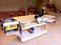 Mobile Garage Workbench Plans