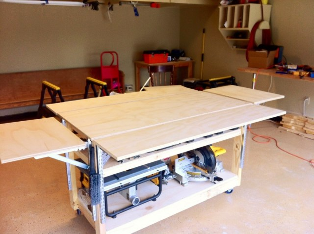 Woodworking mobile workbench PDF Free Download