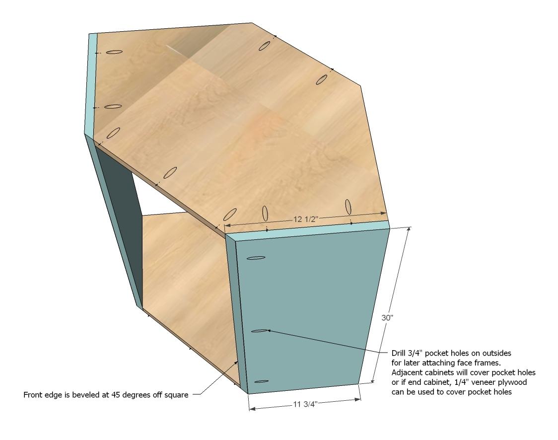 Plans for corner kitchen cabinet bijaju54 for Building upper corner kitchen cabinets