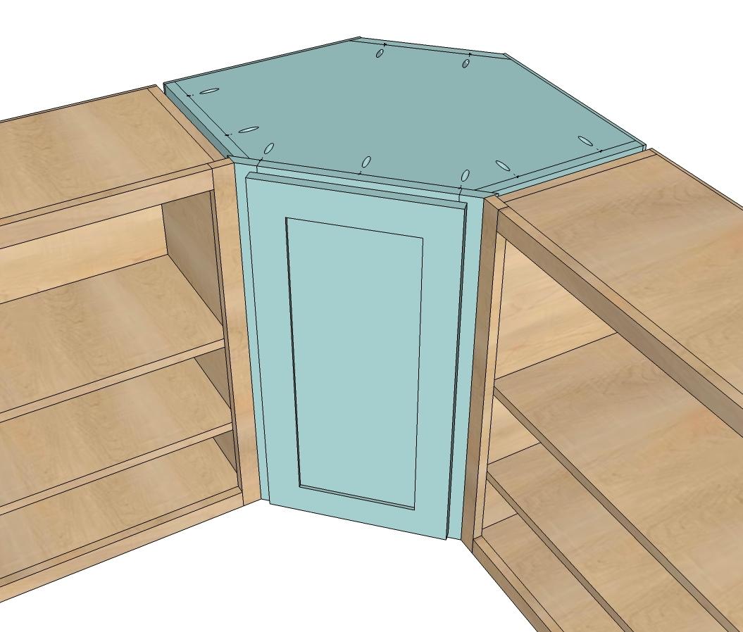 Kitchen Corner Cupboard Plans