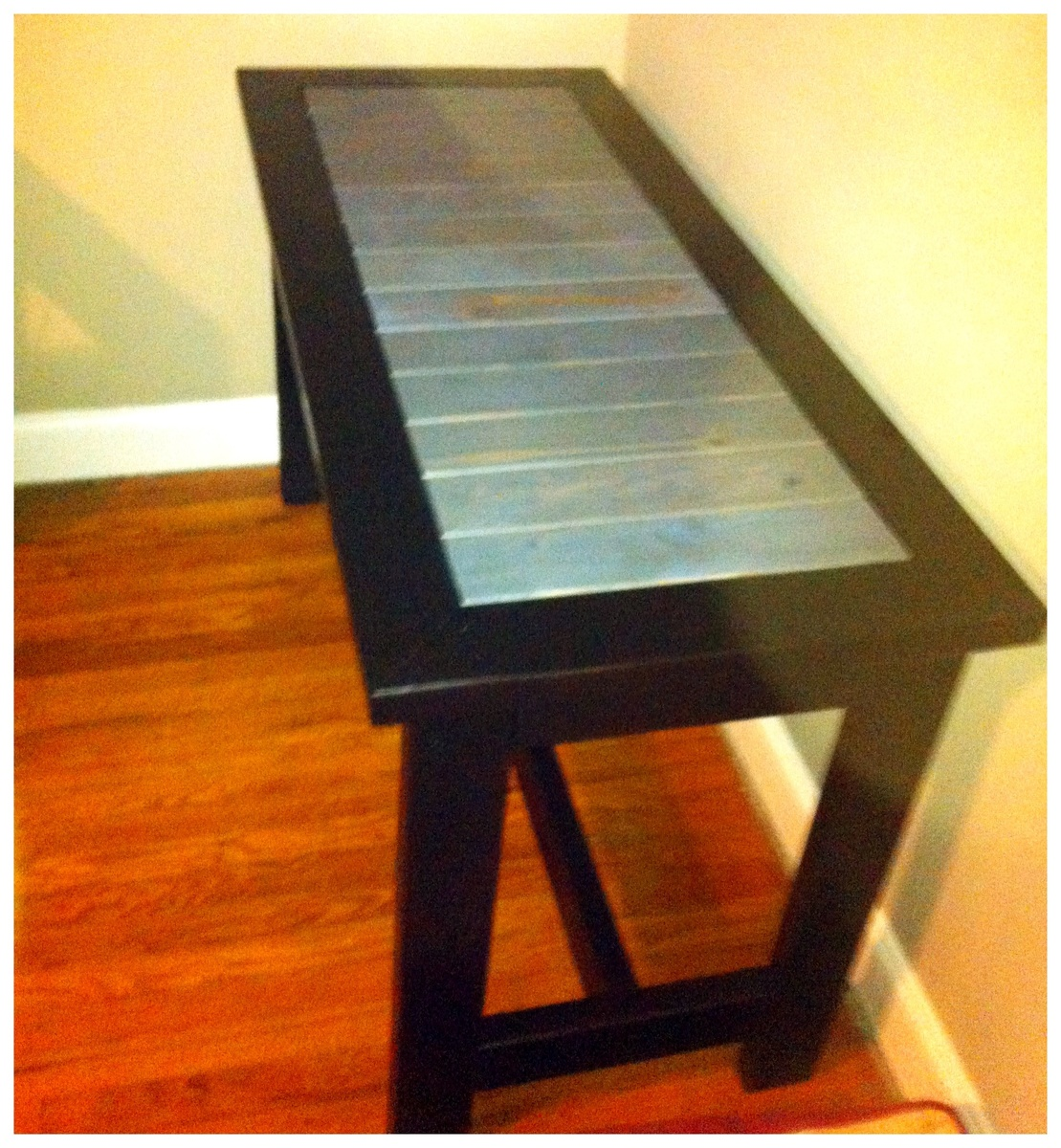 Ana White  2x4 Casual Desk Tweaked  DIY Projects