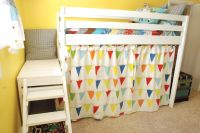 Diy Bunk Bed Curtains - Native Home Garden Design
