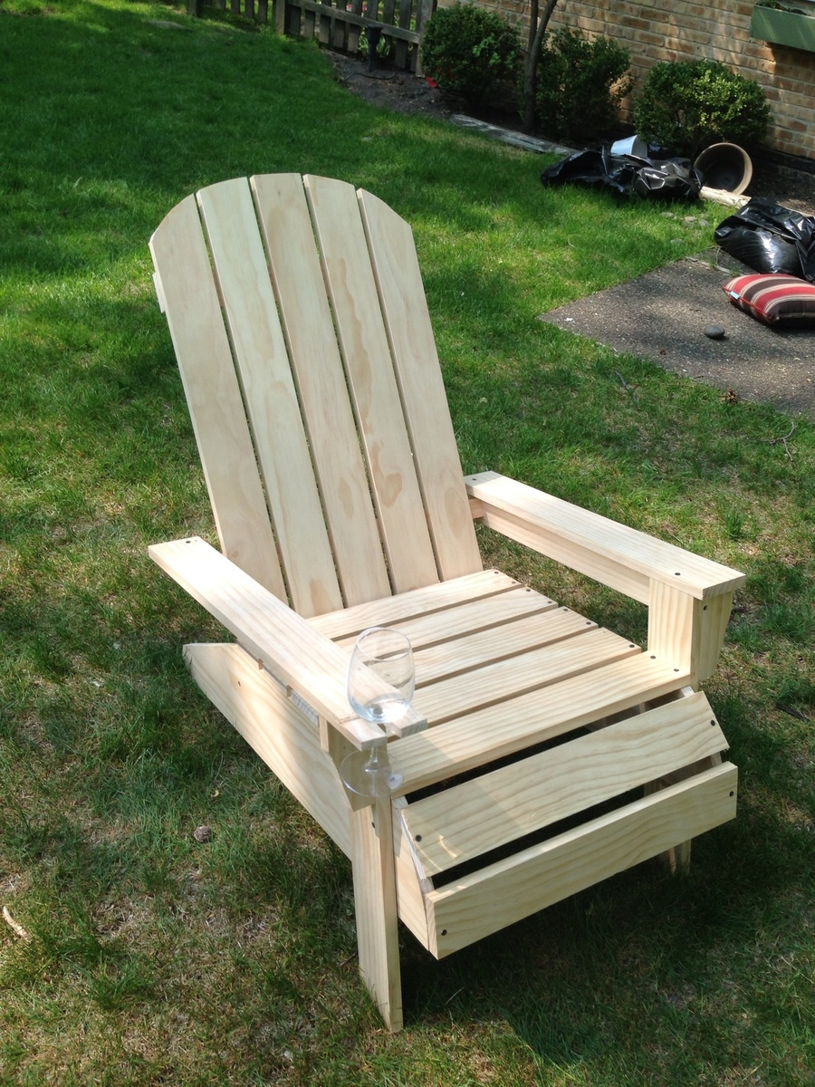 Plans For Adirondack Chairs Ana White Adirondack Chair Diy Projects