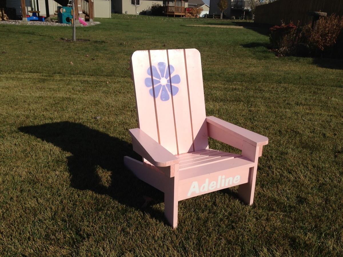 Kid Adirondack Chair Ana White Kids Adirondack Chair Diy Projects