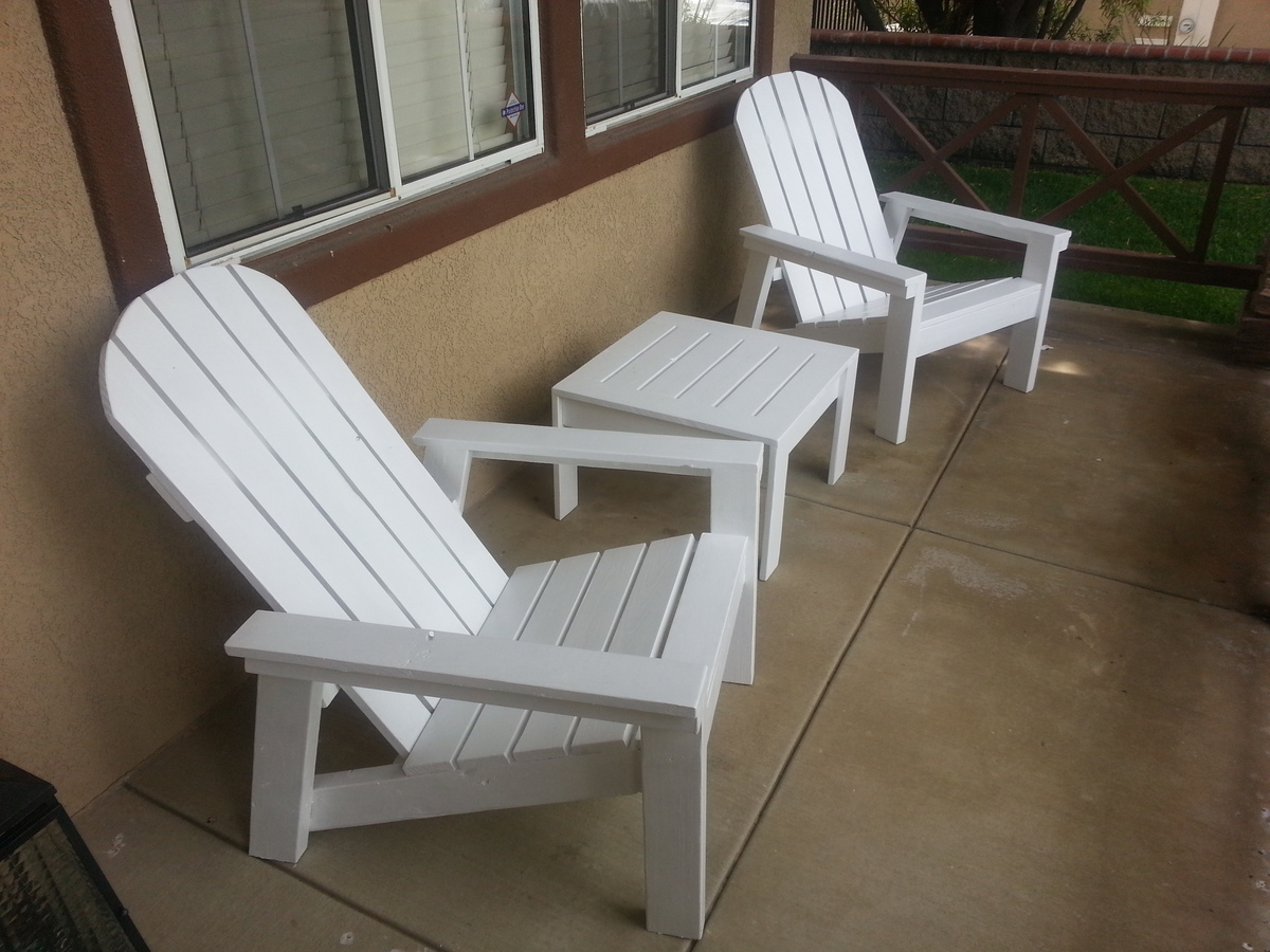 Adirondack Chairs Blueprints Ana White Home Depot Adirondack Chair Diy Projects