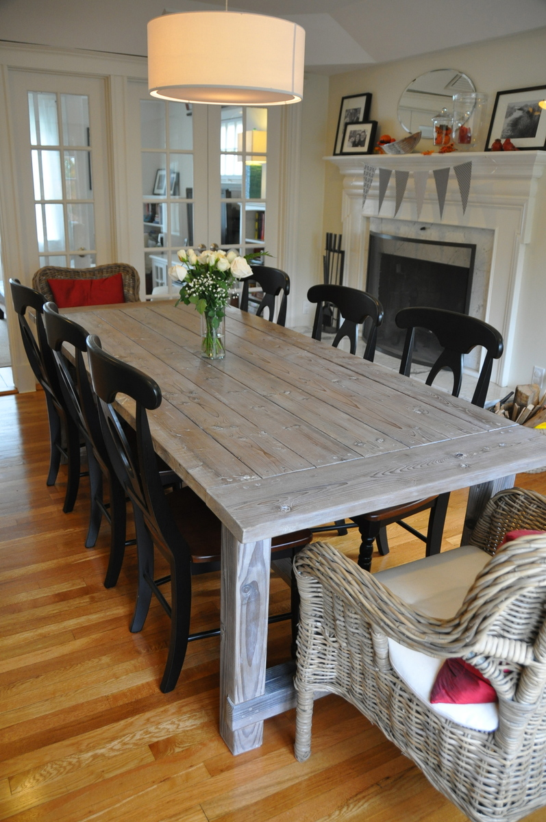 Farm Chairs Ana White Farmhouse Table With Extensions Diy Projects
