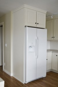 "Ana White | 36"" x 15"" x 24"" Above Fridge Wall Kitchen ..."