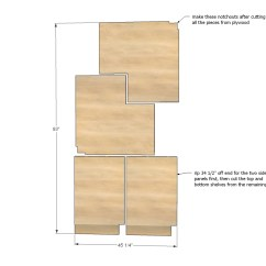 Corner Base Kitchen Cabinet Remodel Hawaii Ana White Easier 36 Quot