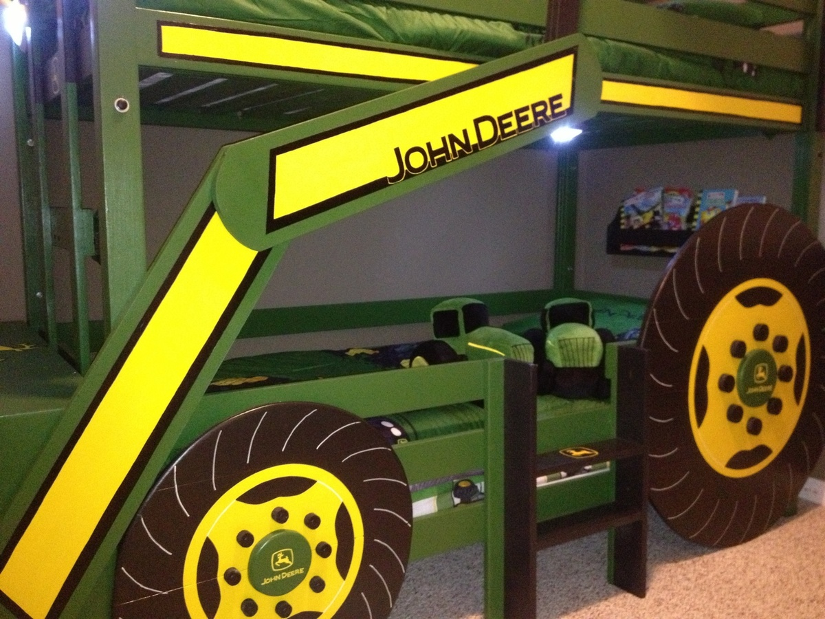 john deere tractor bunk bed plans