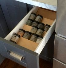 Spice Drawer Insert Ana White