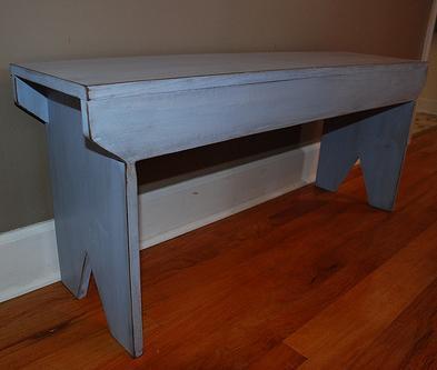 5 board bench design