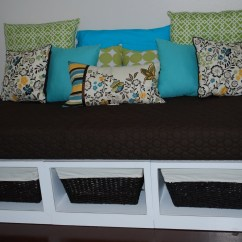 Diy Daybed Sofas Poundex Bobkona Sectional Sofa And Ottoman Set Ana White Stratton Daybeds Times Two Projects